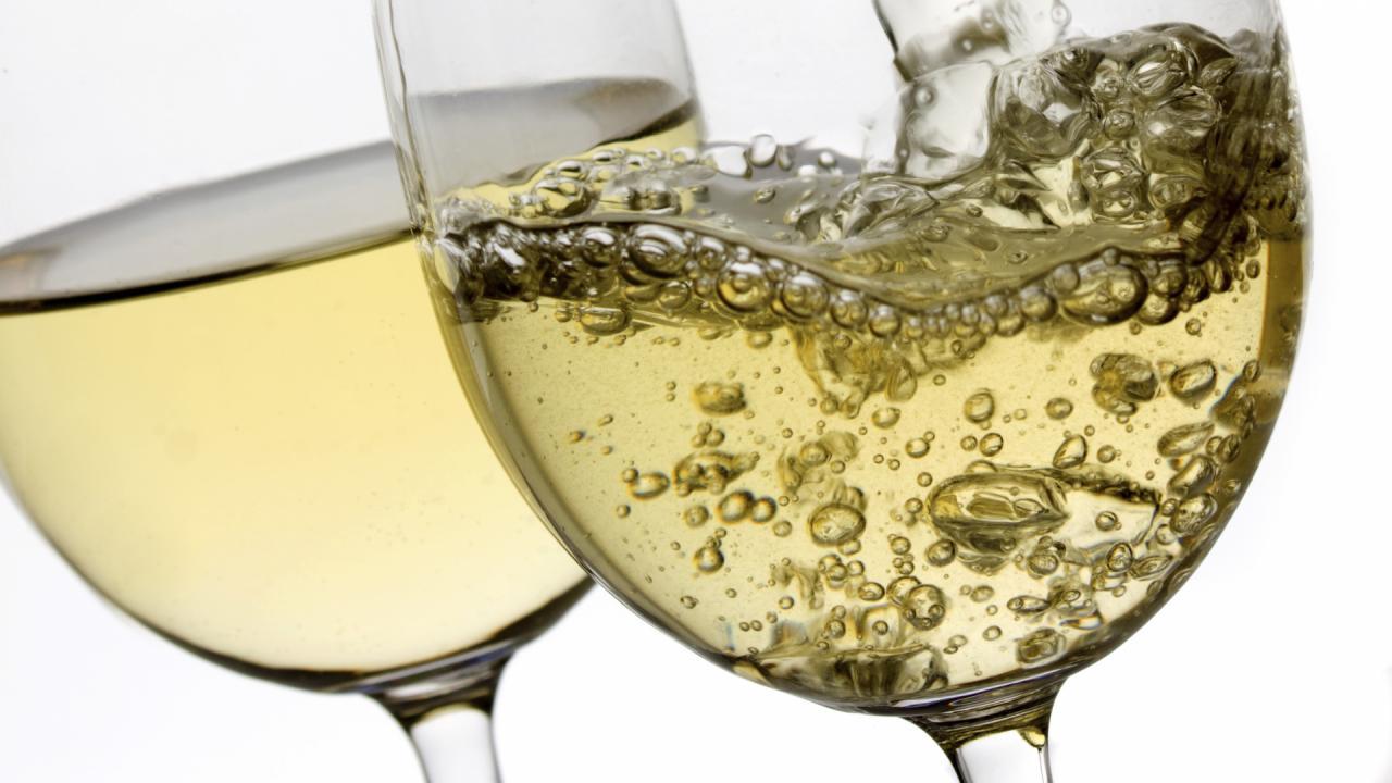 calorieën glas witte wijn