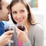 Je bent knapper als je wijn drinkt