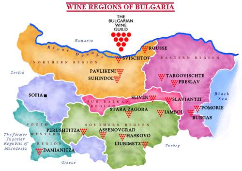 bulgaarse-wijnregios